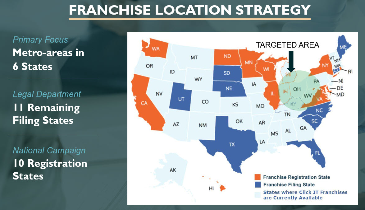 Click IT Franchise Location Strategy